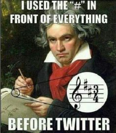 Beethoven and Social Media Humor. It doesn't get better than this! hahaha