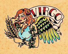 Virgo Saved from Etsy