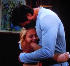 Nick hugs Faith and tells her that he's glad he'll get to spend a lot more time with her and Sully.