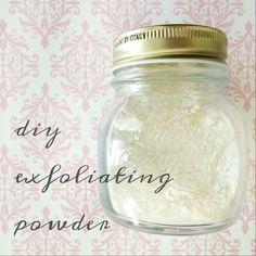 Natural Beauty: DIY Exfoliating Powder - Peaceful Dumpling