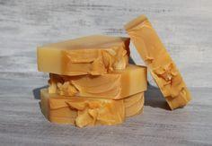 Lemongrass Sunshine Triple Butter Soap Bar by SugarNSpiceNaturals