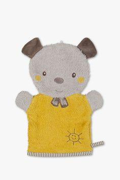 ENTE FROSCH oder PINGUIN für Kinder als Geschenk Waschhandschuhe Puppe HASE