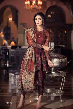 Maria B Suits With Price 2017 - Designer Dresses Pakistani Fashion Party Wear, Pakistani Couture, Pakistani Dress Design, Pakistani Outfits, Indian Outfits, Indian Fashion, Pakistani Models, Dress Indian Style, Indian Dresses