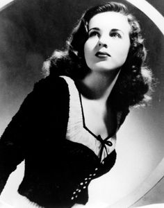 Deanna Durbin, one of my favorite actresses and singers.