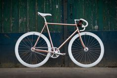 copper bike by olsthoorn cycles . .