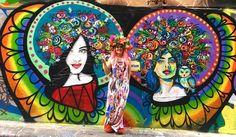 MIMBY JONES ROBINSON ART. Melbourne, Australia. Interesting Photos, Cool Photos, Melbourne Australia, Art Journal Inspiration, Princess Zelda, Rainbow, Doors, Instagram Posts, Fun