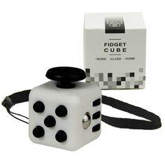미니 Fidget 큐브 11 색상 책상 손가락 장난감 키 체인 짜기 재미 스트레스 퍼즐 매직 큐브 상자