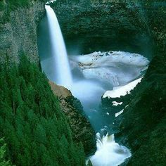 Helmkin falls,  British Columbia Canada