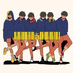 Image about osomatsu san in ᴏsᴏᴍᴀᴛsᴜ-sᴀɴ by ad astra All Anime, Anime Chibi, Anime Siblings, Japanese Games, Ichimatsu, Twin Brothers, Light Novel, Art Studies, Homestuck