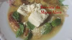 DUAS BOLAS DE SORVETE DELÍCIA Maria Alice, Grains, Rice, Meat, Chicken, Food, Vegetarian Cooking, Sherbet Ice Cream, Recipes