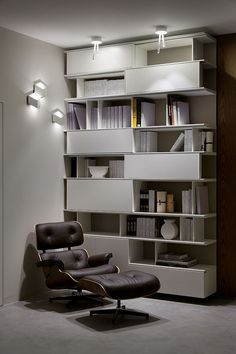FOLD Wall Lights, Designed By Arik Levy For VIBIA, In A Residential Project  In