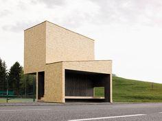 Tennis stand | bus stop | Rintala Eggertsson Architects
