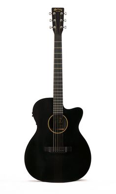 black martin acoustic/electric