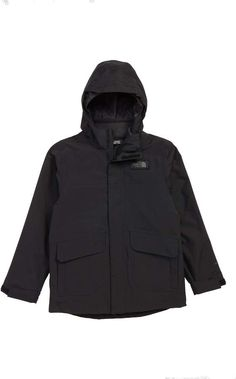 a95e219eeeea The North Face Gordon Lyons TriClimate® Waterproof Hooded 3-in-1 Snowsports  Jacket (Big Boys)