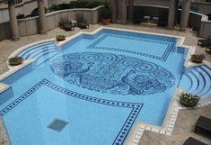 Crystal Mosaico piscina Swimming-Pool
