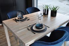 Matchende spisebord i heltre ask brunkjerne med hvit OSMO hardvoksolje | Corinor Outdoor Furniture, Decor, Table, Outdoor Tables, Outdoor Decor, Furniture, Home Decor, Dining, Dining Table