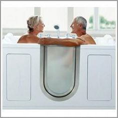 Ellas Bubbles Companion Dual Massage Two Seat Walk-in Bathtub. American Walk-in bathtubs. Michigan, Handicap bathtubs Florida, Best walkin bathtubs in Colorado & Arizonia. Serving the entire USA! Walk In Tub Shower, Bathtub Shower Combo, Walk In Tubs, Walk In Bathtub, Jacuzzi Bathtub, Bathtubs For Small Bathrooms, Bathroom Spa, Master Bathroom, Bathroom Ideas