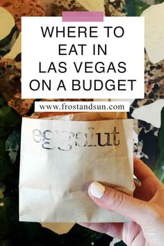 Vegas is a top spot for foodies, but you don't have to break the bank to eat there. Here are the best places to eat in Las Vegas on a budget. Las Vegas Coupons, Las Vegas Tips, Las Vegas Shopping, Las Vegas Food, Las Vegas Vacation, Las Vegas Hotels, Budget Travel, Travel Tips, Vegas Birthday