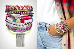 Okay, this is a must-have boho chic accessory for festival season. boho chic accessories