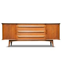 Matthers Credenza ThriveFurniture... clean midcentury modern lines... all of the stuff on this website is MADE IN THE USA....