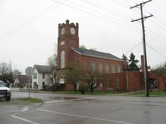 Golconda Historic District in Pope County, Illinois.