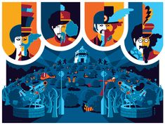 beatles: yellow submarine: pepperland by *strongstuff on deviantART