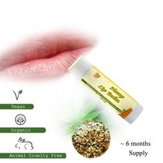 Organic Hemp Lip Balm high in vitamins and minerals for proper lip care