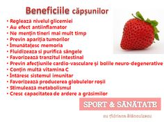 beneficiile capsunilor Raspberry, Strawberry, For Your Health, Metabolism, Good To Know, Health Fitness, Healthy Eating, Mai, Food