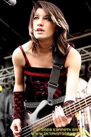 Emma Anzai. sickest bass player ever.