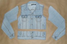 Elas na Moda: DIY - Colete Jeans