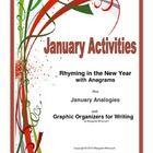 Welcome your students to the new year with this FREE January vocabulary builder with a related graphic organizer for writing.       Begin with RHY...