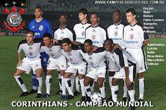 Corinthians, Campeão do Mundial de Interclubes de 2000 no Brasil.