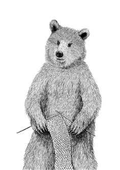 Coolich bear by Pavel Stianko