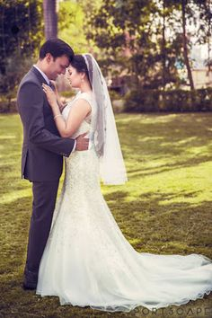 """Photo from album """"Wedding photography"""" posted by photographer Portscape Films Wedding Couple Poses Photography, Photography Poses, Christian Weddings, Lehenga Wedding, Lehenga Saree, Couple Posing, Mehendi, Wedding Couples, Real Weddings"""