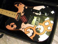 Custom Wrapped Promotional Guitars by Brand O' Guitar Company