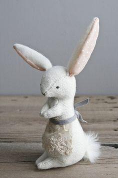 A Proper Rabbit - from Oh, Albatross http://ohalbatross.tumblr.com/ via The Marion House Book