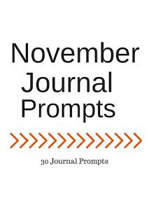 Life of Lovely: November Journal Prompts + Printable