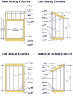 Click Here For Lean To Shed Plans
