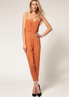 @roressclothes closet ideas #women fashion Coral Jumpsuit for Women