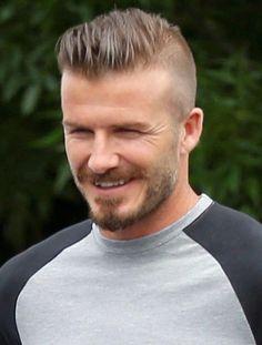 Mens Hair David Beckham style icon