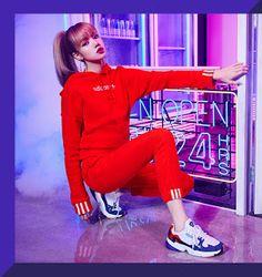 Lisa Ver — Adidas Korea New Falcon Campaign - Lisa Blackpink Lisa Black Pink, Black Pink Kpop, Blackpink Lisa, Korea News, Adidas Official, Kim Jisoo, Kim Jennie, Kpop Girls, Korean Girl