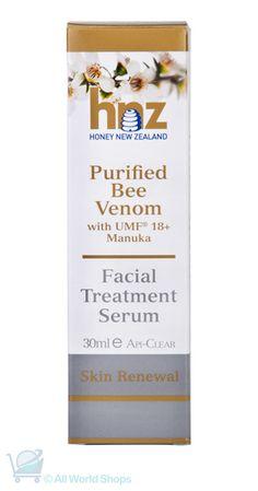 Treat your skin with Bee Venom