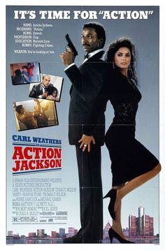 Action Jackson (1988) Stars: Carl Weathers, Craig T. Nelson, Vanity, Sharon Stone, Thomas F. Wilson, Bill Duke ~  Director: Craig R. Baxley (Nominated for 1 Razzie Award)