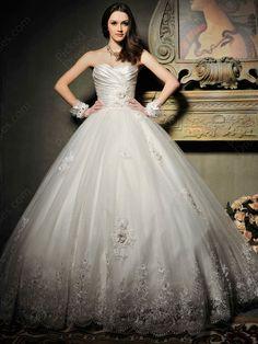 luxury ballgown wedding dress