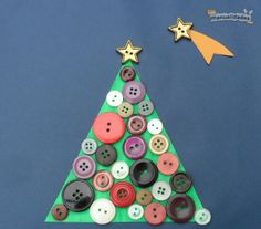 Manualidades-para-navidad-con-botones