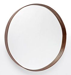 Bentwood Rounded Rectangle Mirror