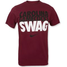 South Carolina Gamecocks Nike ''Swag'' T-Shirt - Garnet #gamecocks #gogamecocks #ibleedgarnet #sc #carolina