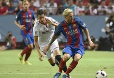 Blog Esportivo do Suíço:  Em reencontro de Ganso com Neymar, Barcelona vira jogo diante do Sevilla