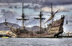 Black beard's ship | But that is not all, below is another Blackbeard's ship photo.