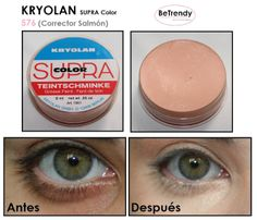 BeTrendy: KRYOLAN: Corrector Salmón ----- #576 Just got it today!! So far loving it from just a quick swipe :)